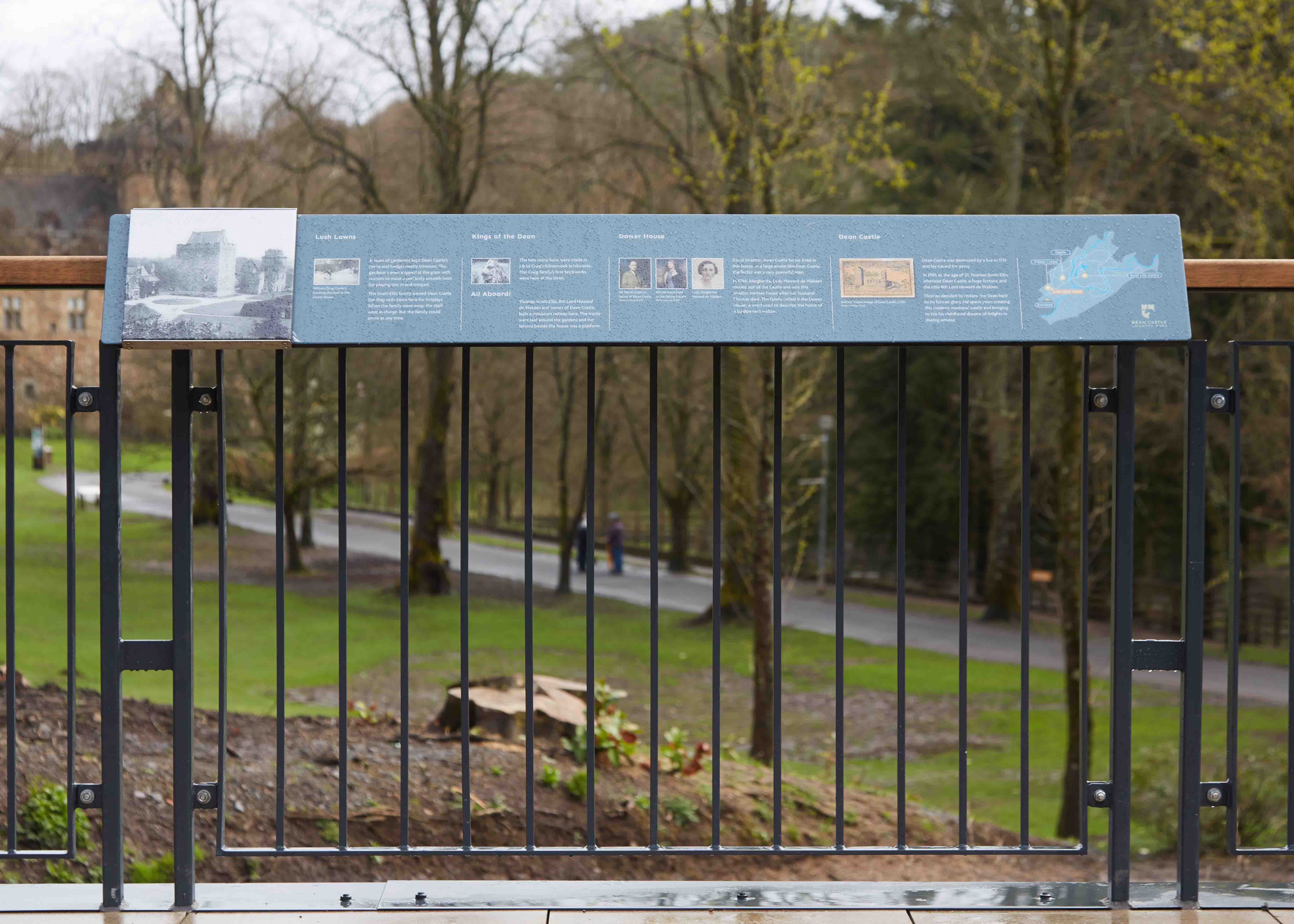 DEAN CASTLE AND COUNTRY PARK – MARCON FIT OUT.