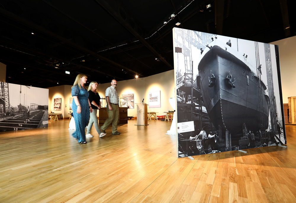 Titanic Foundation Andrews Gallery 'Out Of Stores'pictured: